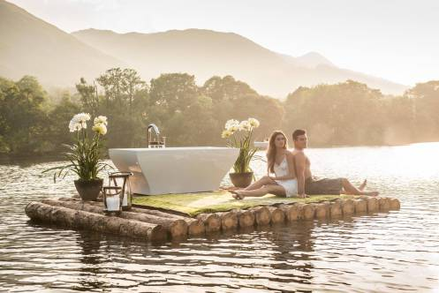 "Our latest ""Baths Out""campaign takes us to beautiful Loch Earn"