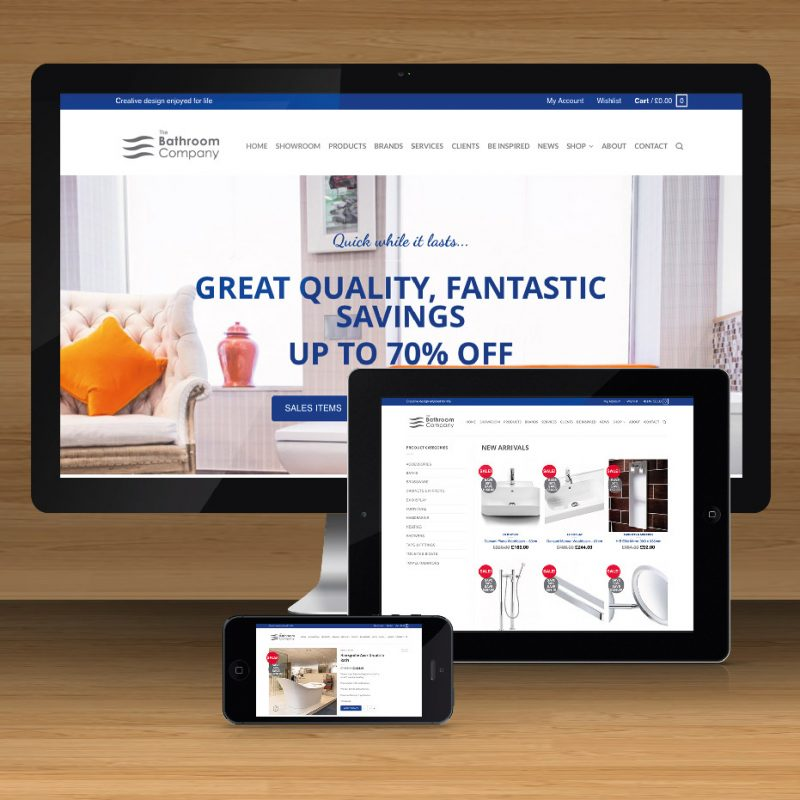 Our exciting new eCommerce shop goes live