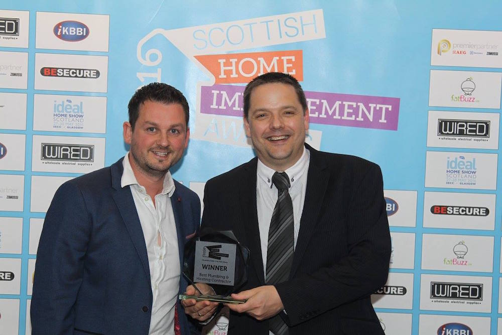 Our sister company LW Haddow are crowned as best Plumbing and Heating Contractor for a second consecutive year