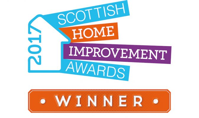 Our sister company LW Haddow wins again at the Scottish Home Improvement Awards 2017
