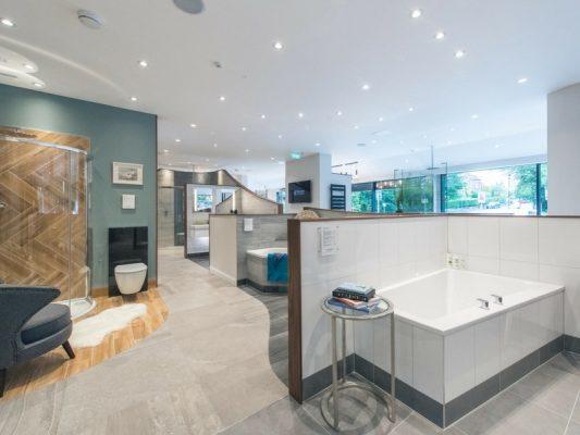 New Showroom opens in Edinburgh - The Bathroom Company