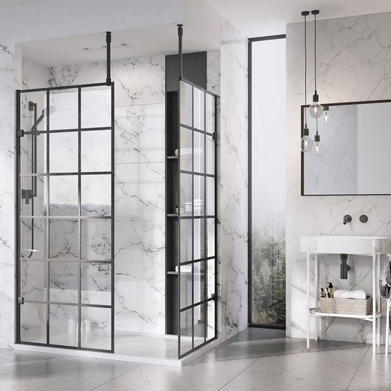 trend for 2019 crittall shower screens  the bathroom company