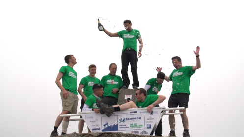The Bathroom Company's Bath Up The Ben adventure raises funds for Macmillan Cancer Support