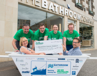 Our team raises over £4,000 to support cancer research