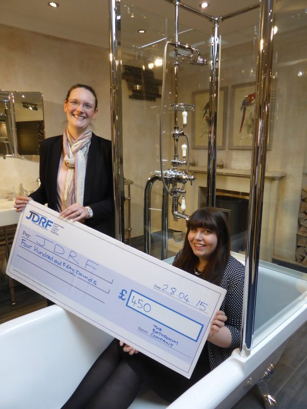 The Bathroom Company staff raise £450 for type 1 diabetes charity, JDRF