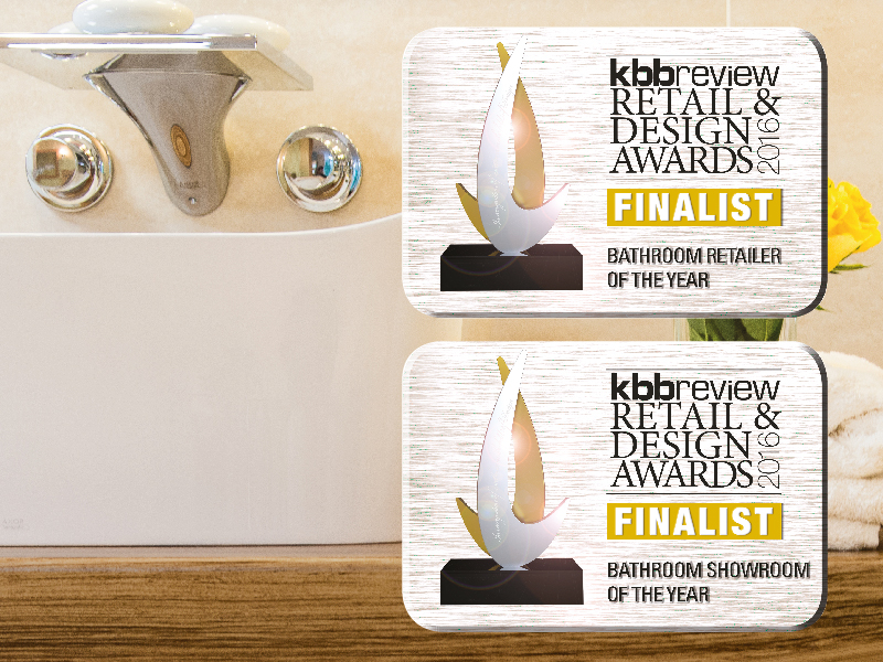 The Bathroom Company has been nominated as a finalist at the 2016 KBBReview Awards