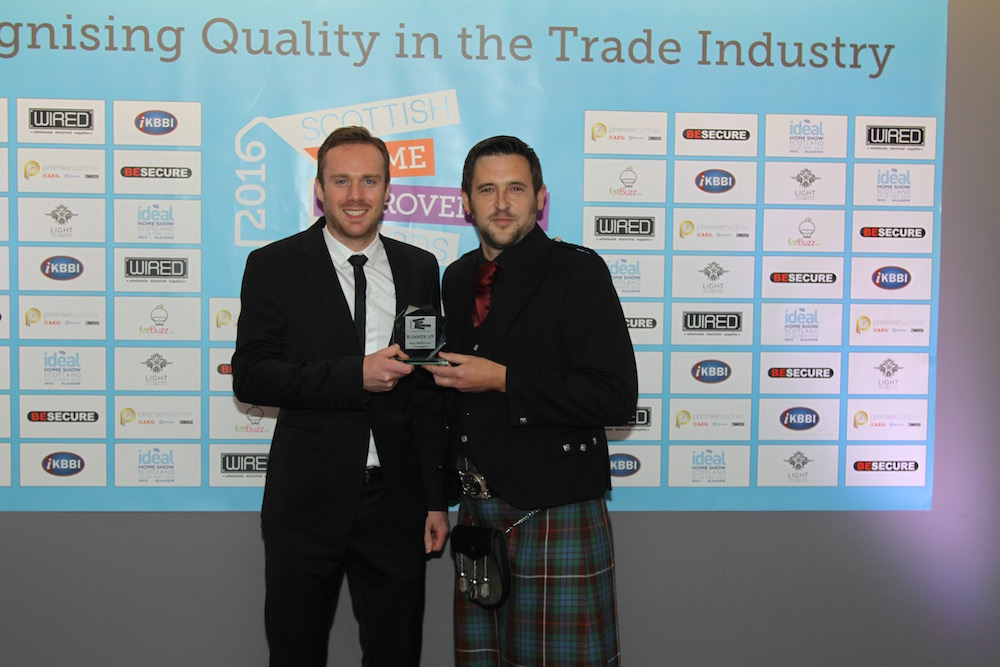 The Bathroom Company celebrates success at the 2016 Scottish Home Improvement Awards