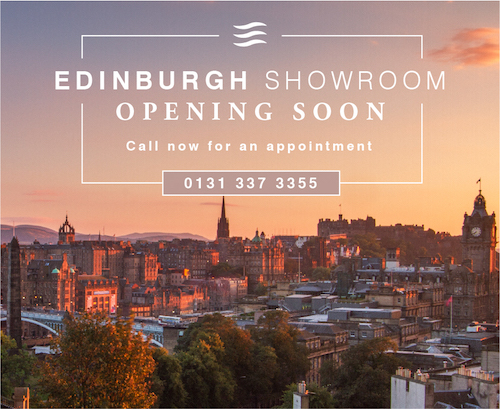 We are delighted to announce that our new Edinburgh showroom will be opening soon
