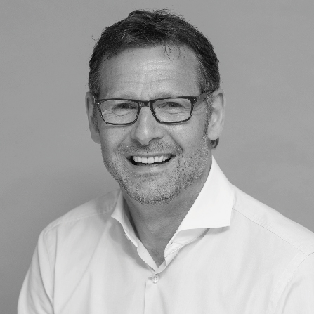 A headshot of Lawrence Haddow, our managing director